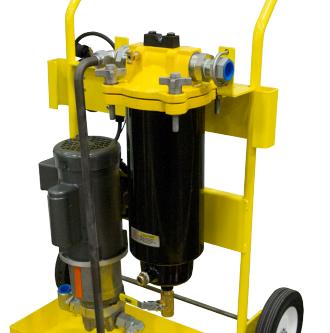 Introducting Racor's CLEANDiesel Portable Diesel Fuel Filtration Cart