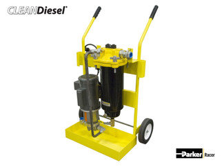 Portable Diesel Fuel Filtration Cart