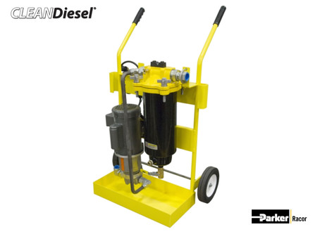 Portable Diesel Fuel Filtration Cart