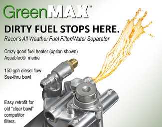 Dirty Fuel Stops Here.  GreenMax.