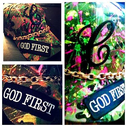 GOD FIRST CUSTOM CAP