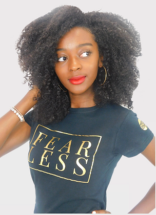 FEARLESS GOLD TEE