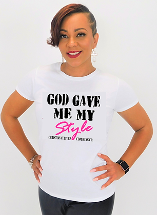 GOD GIVEN STYLE TEE