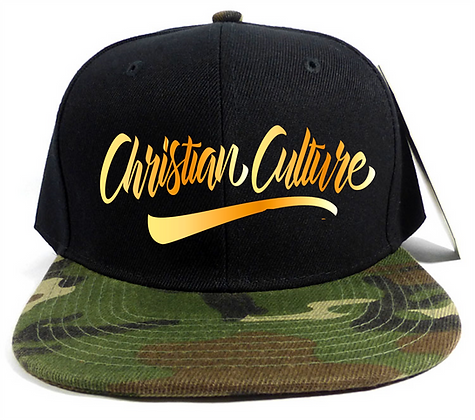 GOLD LOGO CAP