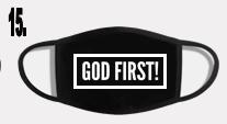 GOD FIRST MASK