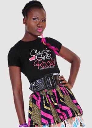 CHURCH GIRLS ROCK TEE