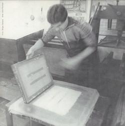 Atelier, NY, 1978