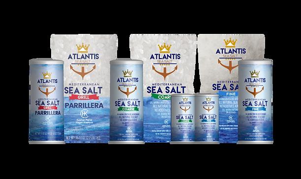 Atlantis Sea Salt Products