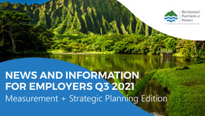 Q3 2021 Newsletter – Measurement and Strategic Planning Edition