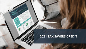 Annual Tax Savers Credit [Participant Infographic]