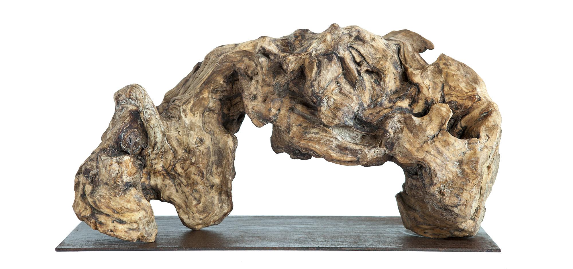 Ola, madera, 20x40x10cm, 2019