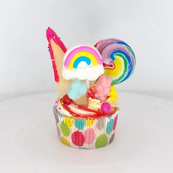 Candy Explosion Cupcake