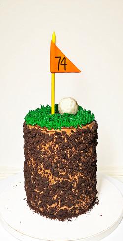 Brooklyn Blackout Golf Cake