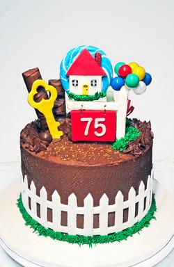 Real Estate Cake