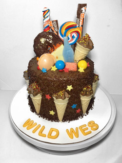 Wild Wes Cake