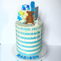 Double Barrel Birthday Cake