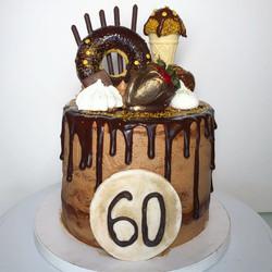 60th Birthday Chocolate Lover