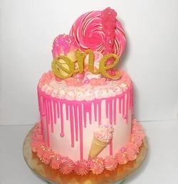 Princess Gold Cake