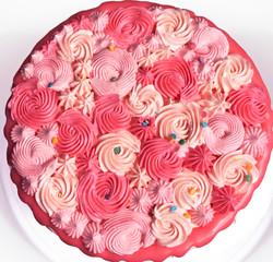 Pink Rosette Bouquet