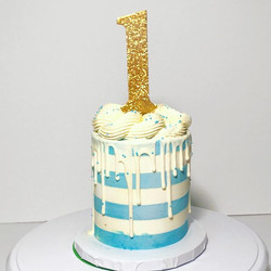 Striped Smash Cake