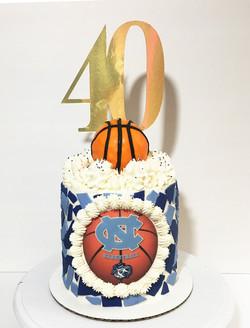 UNC 40 Cake