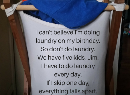 Laundry.  The Struggle is Real.