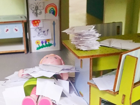 Paper Clutter Avalanche Prevention