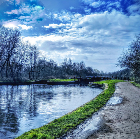 THE CANAL AT INCE