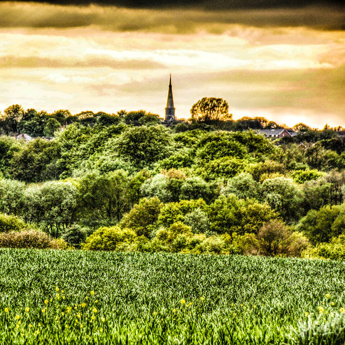 VIEW TO THE SPIRE