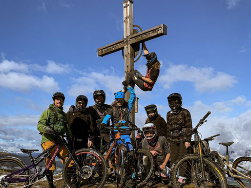 Auch die Bikepark Samerberg Crew macht mal Kurzurlaub.