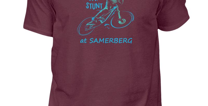 """T-Shirt """"Do Your Own Stunt at Samerberg"""" Herren"""