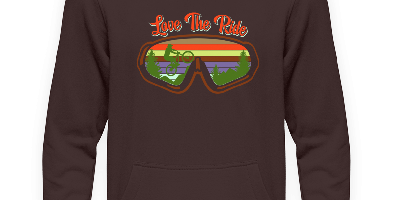 "Hoody ""Love The Ride Goggles"""