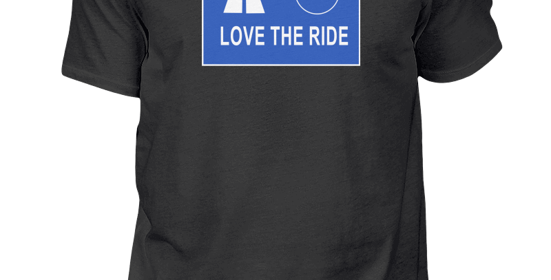 "T-Shirt ""Ausfahrt Love The Ride"" Herren"