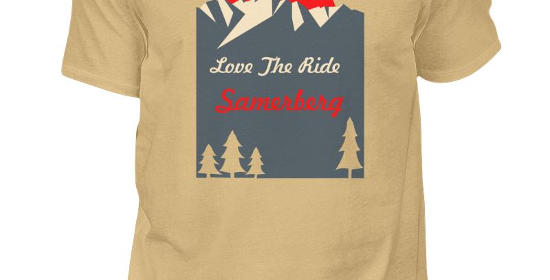 "T-Shirt ""Love The Ride Samerberg"" Herren"