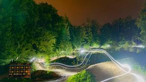 So sieht also unser letzter Streckenabschnitt bei Nacht aus... ✨