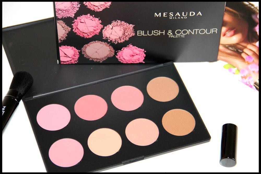 cosmética, blush & contour, mesauda milano