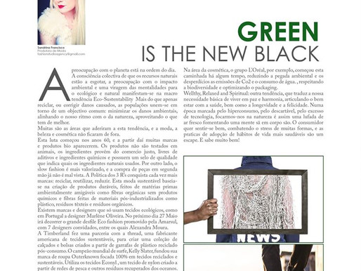 GREEN is the new black - in Revista Spot