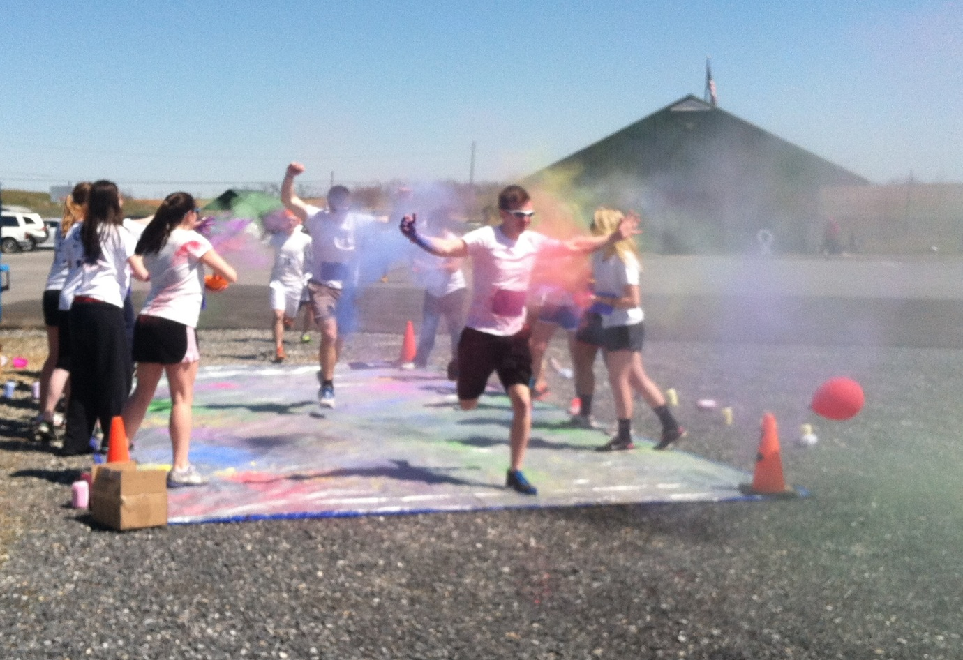 SU's Color Run, 2013