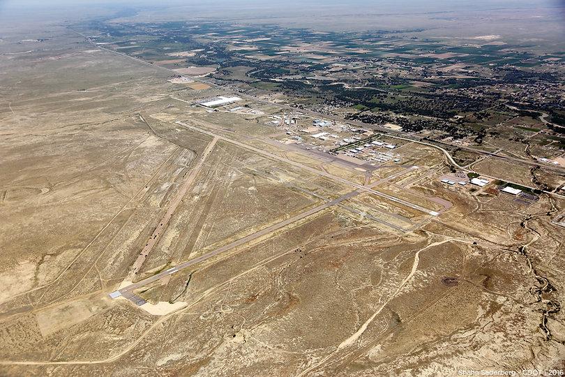Pueblo Airport Aerial