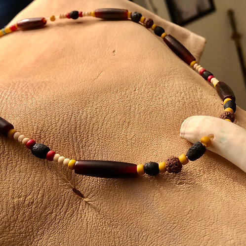 Large Gator Tooth Necklace (FREE SHIPPING)