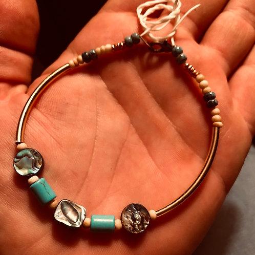 Abalone Turquoise Bracelet (FREE SHIPPING)