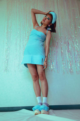 Blue tartan