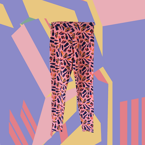 Pink Mecha Legging