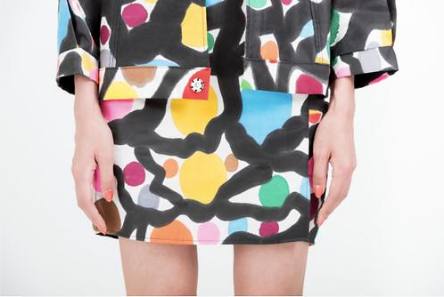 Alleyway skirt