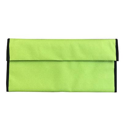 TRAVEL POCKET: Green multi pocket folder