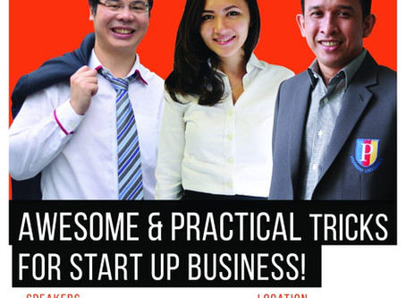 AWESOME & PRACTICAL TRICKS FOR START UP BUSINESS!