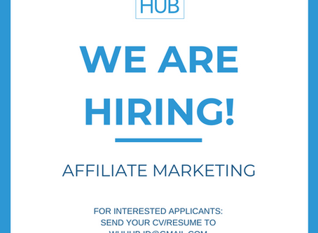 AFFILIATE MARKETING NEEDED!