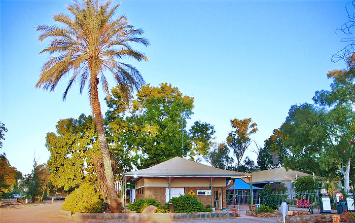 Outback Caravan Park Office & Shop