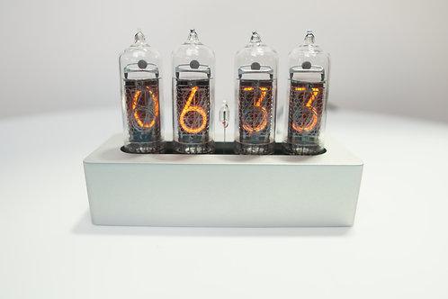Preorder: Anodized Silver Enix Clock