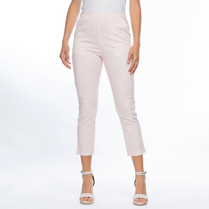 CHECKED PRINT PULL ON PANTS